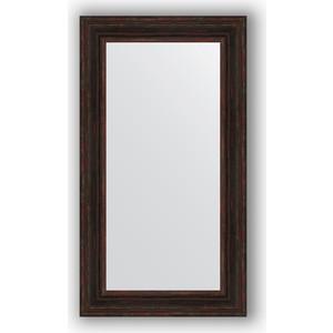 Зеркало в багетной раме поворотное Evoform Definite 62x112 см, темный прованс 99 мм (BY 3094) цена