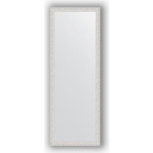 Зеркало в багетной раме поворотное Evoform Definite 51x141 см, чеканка белая 46 мм (BY 3098)