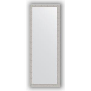Зеркало в багетной раме поворотное Evoform Definite 51x141 см, волна алюминий 46 мм (BY 3102)