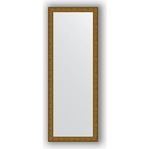 Зеркало в багетной раме поворотное Evoform Definite 54x144 см, виньетка состаренное золото 56 мм (BY 3103)