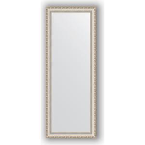 Зеркало в багетной раме поворотное Evoform Definite 55x145 см, версаль серебро 64 мм (BY 3110) зеркало в багетной раме поворотное evoform definite 75x135 см версаль серебро 64 мм by 3302