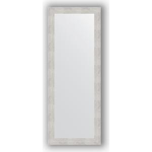 Зеркало в багетной раме поворотное Evoform Definite 56x146 см, серебреный дождь 70 мм (BY 3112)