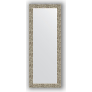 Зеркало в багетной раме поворотное Evoform Definite 56x146 см, соты титан 70 мм (BY 3116)