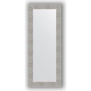 Зеркало в багетной раме поворотное Evoform Definite 60x150 см, волна хром 90 мм (BY 3121)