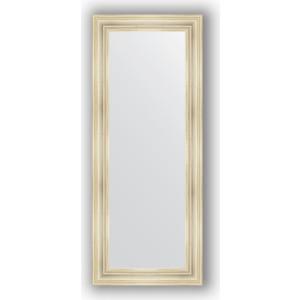 Зеркало в багетной раме поворотное Evoform Definite 62x152 см, травленое серебро 99 мм (BY 3124)