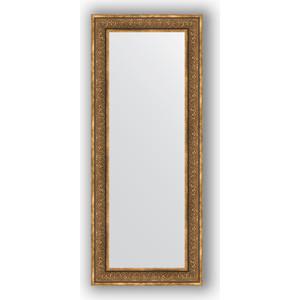 Зеркало в багетной раме поворотное Evoform Definite 63x153 см, вензель бронзовый 101 мм (BY 3127)