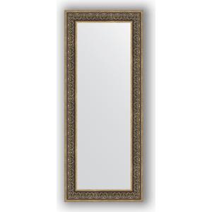 Зеркало в багетной раме поворотное Evoform Definite 63x153 см, вензель серебряный 101 мм (BY 3128) зеркало в багетной раме поворотное evoform definite 63x113 см вензель бронзовый 101 мм by 3095