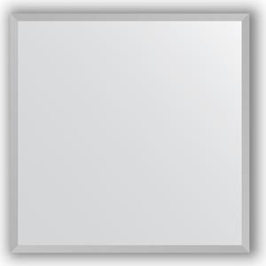 Зеркало в багетной раме Evoform Definite 56x56 см, хром 18 мм (BY 3129)
