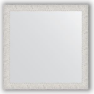 Зеркало в багетной раме Evoform Definite 61x61 см, чеканка белая 46 мм (BY 3130)