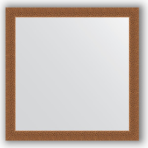 Зеркало в багетной раме Evoform Definite 61x61 см, мозаика медь 46 мм (BY 3131)