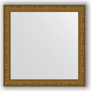 Зеркало в багетной раме Evoform Definite 64x64 см, виньетка состаренное золото 56 мм (BY 3135) evoform definite by 1018