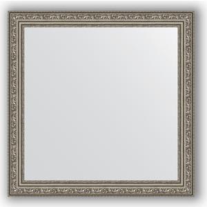 Зеркало в багетной раме Evoform Definite 64x64 см, виньетка состаренное серебро 56 мм (BY 3136) evoform definite by 1018