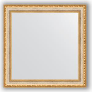 Зеркало в багетной раме Evoform Definite 65x65 см, версаль кракелюр 64 мм (BY 3141) зеркало в багетной раме поворотное evoform definite 55x105 см версаль кракелюр 64 мм by 3077