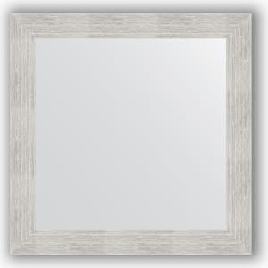 Зеркало в багетной раме Evoform Definite 66x66 см, серебреный дождь 70 мм (BY 3144) фото