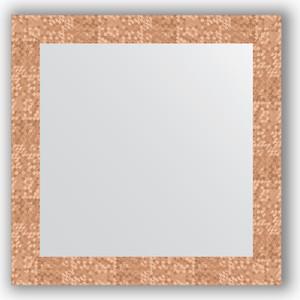 Зеркало в багетной раме Evoform Definite 66x66 см, соты медь 70 мм (BY 3146) все цены