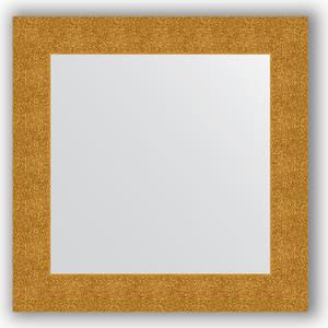 Зеркало в багетной раме Evoform Definite 70x70 см, чеканка золотая 90 мм (BY 3150)