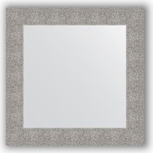 Зеркало в багетной раме Evoform Definite 70x70 см, чеканка серебряная 90 мм (BY 3151)