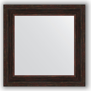 Зеркало в багетной раме Evoform Definite 72x72 см, темный прованс 99 мм (BY 3158) цена