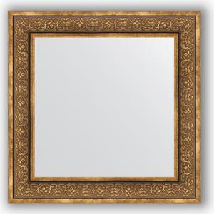 Зеркало в багетной раме Evoform Definite 73x73 см, вензель бронзовый 101 мм (BY 3159) зеркало в багетной раме evoform definite 73x73 см вензель серебряный 101 мм by 3160