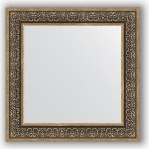 Зеркало в багетной раме Evoform Definite 73x73 см, вензель серебряный 101 мм (BY 3160) зеркало в багетной раме evoform definite 73x73 см вензель серебряный 101 мм by 3160