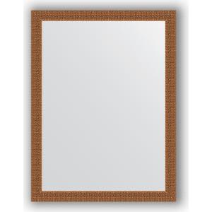 Зеркало в багетной раме поворотное Evoform Definite 61x81 см, мозаика медь 46 мм (BY 3163)