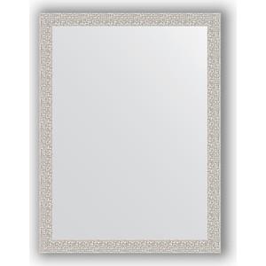 Зеркало в багетной раме поворотное Evoform Definite 61x81 см, мозаика хром 46 мм (BY 3164) gem kingdom белый фарфоровый пупс delicious с позолотой gem kingdom