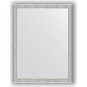 Зеркало в багетной раме поворотное Evoform Definite 61x81 см, волна алюминий 46 мм (BY 3166)