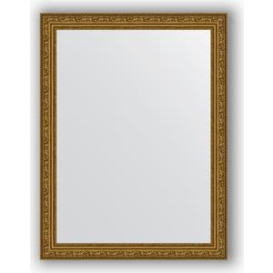 Зеркало в багетной раме поворотное Evoform Definite 64x84 см, виньетка состаренное золото 56 мм (BY 3167) цены