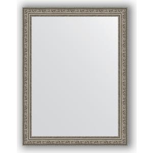 Зеркало в багетной раме поворотное Evoform Definite 64x84 см, виньетка состаренное серебро 56 мм (BY 3168)