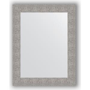 Зеркало в багетной раме поворотное Evoform Definite 70x90 см, чеканка серебряная 90 мм (BY 3183)