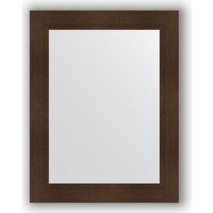 Зеркало в багетной раме поворотное Evoform Definite 70x90 см, бронзовая лава 90 мм (BY 3184)