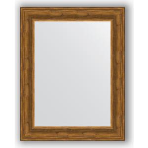 Зеркало в багетной раме поворотное Evoform Definite 72x92 см, травленая бронза 99 мм (BY 3189)