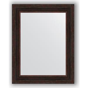 Зеркало в багетной раме поворотное Evoform Definite 72x92 см, темный прованс 99 мм (BY 3190) цена