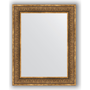 Зеркало в багетной раме поворотное Evoform Definite 73x93 см, вензель бронзовый 101 мм (BY 3191) зеркало в багетной раме поворотное evoform definite 63x113 см вензель бронзовый 101 мм by 3095
