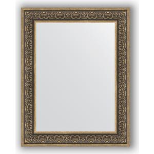 Зеркало в багетной раме поворотное Evoform Definite 73x93 см, вензель серебряный 101 мм (BY 3192)