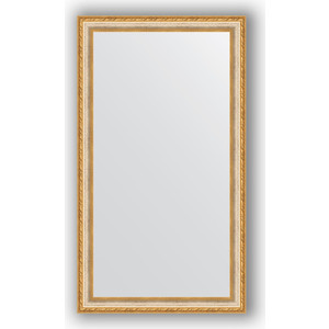 Зеркало в багетной раме поворотное Evoform Definite 65x115 см, версаль кракелюр 64 мм (BY 3205) зеркало в багетной раме поворотное evoform definite 75x135 см версаль серебро 64 мм by 3302