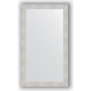 Зеркало в багетной раме поворотное Evoform Definite 66x116 см, серебреный дождь 70 мм (BY 3208)