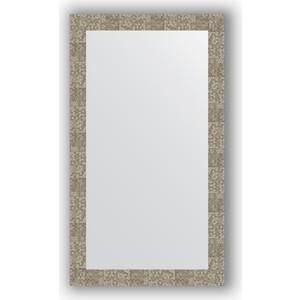 Зеркало в багетной раме поворотное Evoform Definite 66x116 см, соты титан 70 мм (BY 3212) цена в Москве и Питере