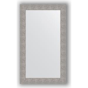 Зеркало в багетной раме поворотное Evoform Definite 70x120 см, чеканка серебряная 90 мм (BY 3215)