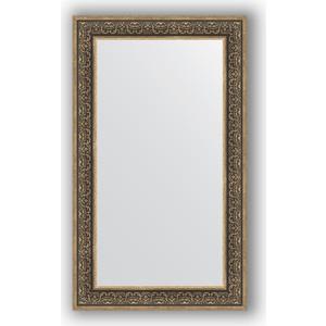 Зеркало в багетной раме поворотное Evoform Definite 73x123 см, вензель серебряный 101 мм (BY 3224) зеркало в багетной раме evoform definite 73x73 см вензель серебряный 101 мм by 3160