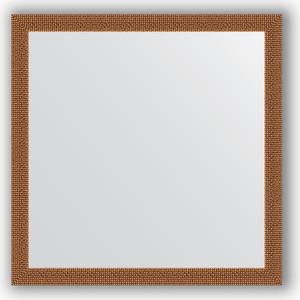 Зеркало в багетной раме Evoform Definite 71x71 см, мозаика медь 46 мм (BY 3227)