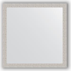 Зеркало в багетной раме Evoform Definite 71x71 см, мозаика хром 46 мм (BY 3228)