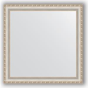 Зеркало в багетной раме Evoform Definite 75x75 см, версаль серебро 64 мм (BY 3238)