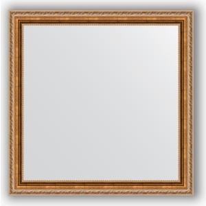 Зеркало в багетной раме Evoform Definite 75x75 см, версаль бронза 64 мм (BY 3239)