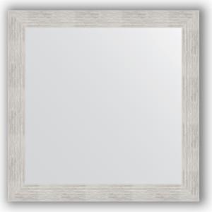 Зеркало в багетной раме Evoform Definite 76x76 см, серебреный дождь 70 мм (BY 3240)