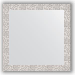 Зеркало в багетной раме Evoform Definite 76x76 см, соты алюминий 70 мм (BY 3243)