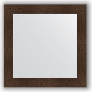 Зеркало в багетной раме Evoform Definite 80x80 см, бронзовая лава 90 мм (BY 3248)