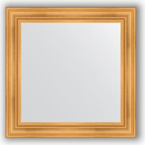 Зеркало в багетной раме Evoform Definite 82x82 см, травленое золото 99 мм (BY 3251) цена