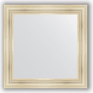 Зеркало в багетной раме Evoform Definite 82x82 см, травленое серебро 99 мм (BY 3252) цена