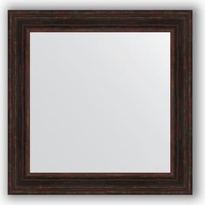Зеркало в багетной раме Evoform Definite 82x82 см, темный прованс 99 мм (BY 3254) цена